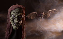 Free Scary Witch Head Prop Stock Photos - 57460303