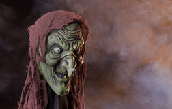 Scary Witch Head Prop Royalty Free Stock Photos