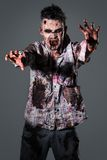 Scary zombie cosplay Stock Image