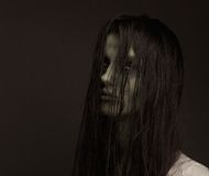 Scary zombie girl Royalty Free Stock Photos