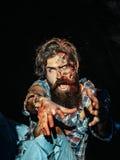 Scary zombie man Stock Photos