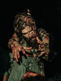 Scary zombie man Stock Photo