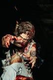 Scary zombie man Royalty Free Stock Photo