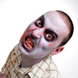 Scary zombie Stock Images