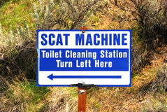 Scat Machine Royalty Free Stock Photography