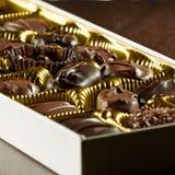 Scatola Assorted di cioccolato. Immagini Stock Libere da Diritti