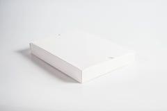 Scatola bianca in bianco Immagine Stock
