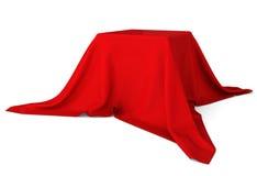 Scatola coperta di panno Immagini Stock Libere da Diritti