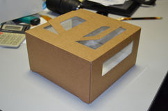 Scatola d'imballaggio Fotografia Stock Libera da Diritti