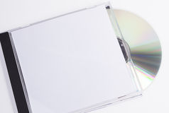 Scatola del CD e del disco Fotografie Stock