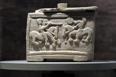 Scatola del guerriero dalla necropoli di Piquia, Arjona, Jaen Immagini Stock Libere da Diritti