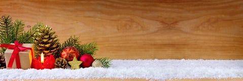 Scatola della candela e di regalo di arrivo Fotografie Stock Libere da Diritti