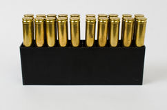 Scatola delle pallottole Immagini Stock Libere da Diritti