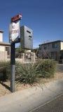 Scatola di Access all'entrata della Comunità Gated Fotografia Stock