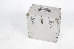 Scatola di alluminio sporca Fotografia Stock