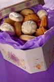 scatola di biscotti Fotografia Stock