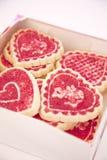 Scatola di biscotti Immagini Stock