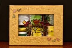 Scatola di bustine di tè Fotografie Stock