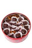 Scatola di caramelle Fotografie Stock Libere da Diritti