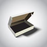 Scatola di cartone vuota Fotografia Stock