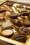 Scatola di cioccolato Immagini Stock