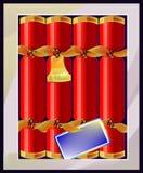 Scatola di cracker di Natale Immagini Stock Libere da Diritti