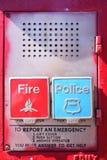 Scatola di emergenza Fotografie Stock Libere da Diritti