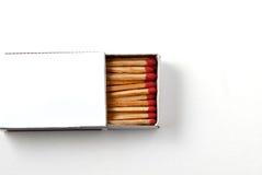 Scatola di fiammiferi Fotografia Stock Libera da Diritti