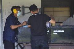 Scatola di fucilazione Fotografia Stock Libera da Diritti
