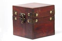 Scatola di legno Fotografia Stock