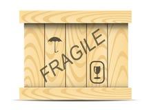 Scatola di legno royalty illustrazione gratis