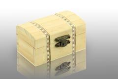 Scatola di legno Fotografie Stock