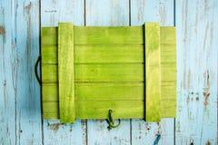 Scatola di legno Colourful immagini stock
