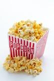Scatola di popcorn Fotografie Stock