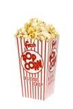 Scatola di popcorn Immagini Stock