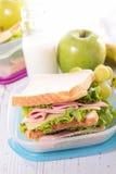 Scatola di pranzo Fotografie Stock