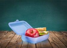 Scatola di pranzo Fotografia Stock Libera da Diritti