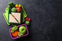 Scatola di pranzo Immagine Stock
