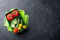 Scatola di pranzo Fotografia Stock