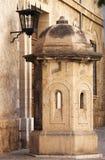 Scatola di sentinella in Palma de Mallorca Fotografie Stock Libere da Diritti