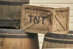 Scatola di TNT Fotografia Stock Libera da Diritti
