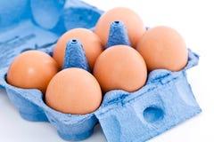 Scatola di uova Fotografia Stock Libera da Diritti