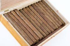 Scatola domenicana di sigari Fotografia Stock Libera da Diritti