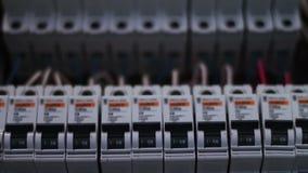Scatola elettrica di commutazione dell'interruttore video d archivio