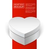 Scatola line-01 rosso del cuore del modello royalty illustrazione gratis