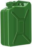 Scatola metallica del metallo di benzina Immagini Stock