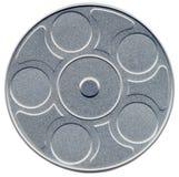 Scatola metallica falsa della pellicola di movimento illustrazione vettoriale