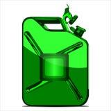 Scatola metallica per combustibile Fotografie Stock Libere da Diritti