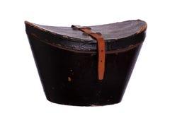 Scatola molto vecchia per il cappello Fotografia Stock Libera da Diritti