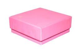 Scatola rosa Fotografia Stock